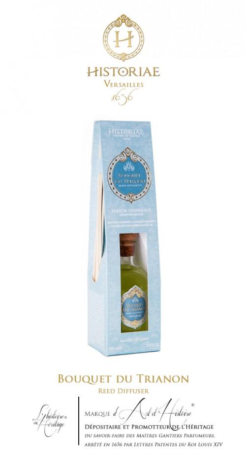 HISTORIAE Bouquet du Trianon - parfum d'intérieur diffuseur rotins 100ml