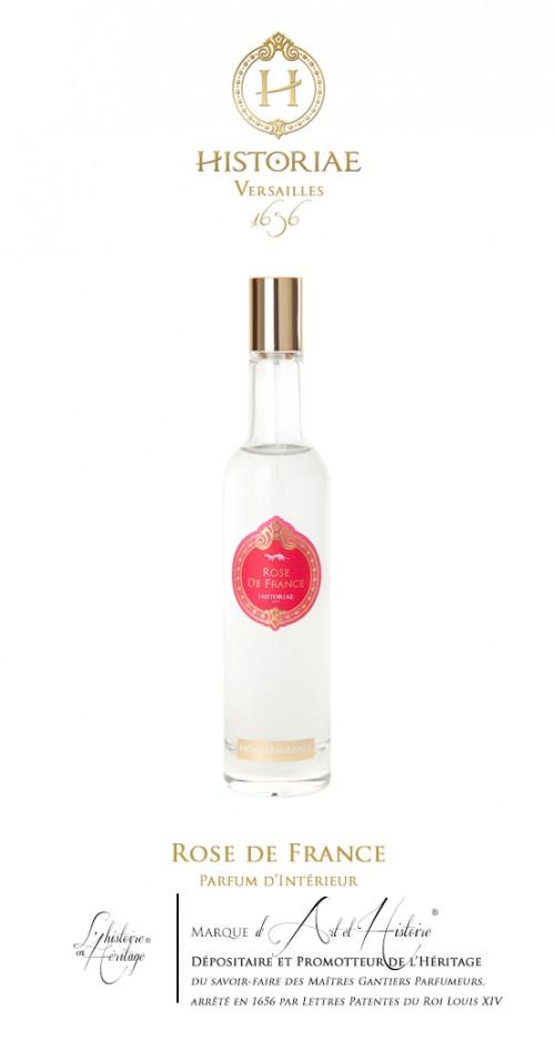 HISTORIAE Rose de France - Parfum d'Intérieur spray 100ml