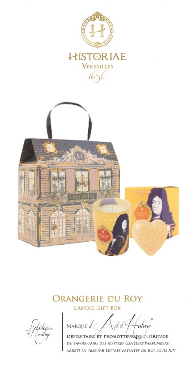 Orangerie du Roy - Candle Gift Box