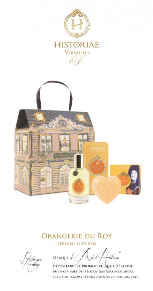 HISTORIAE Orangerie du Roy - Coffret Parfum eau de toilette 50ml + savon 100g