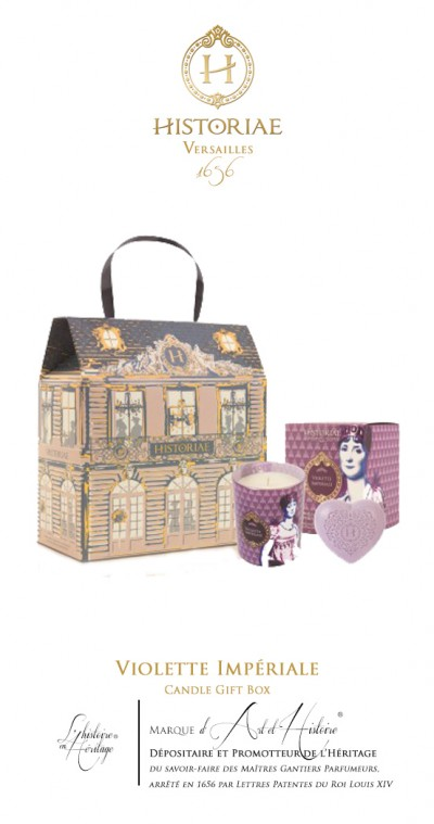 Violette Impériale - Candle Gift Box