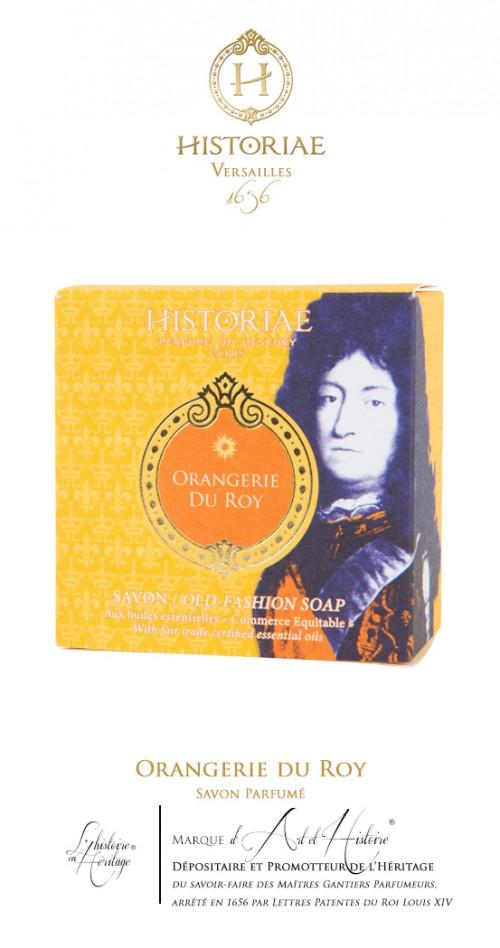 HISTORIAE Orangerie du Roy - Savon parfumé 100g