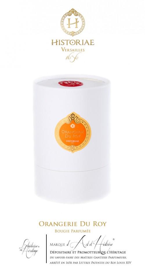 HISTORIAE Orangerie du Roy - Bougie parfumée 180 g (40h)