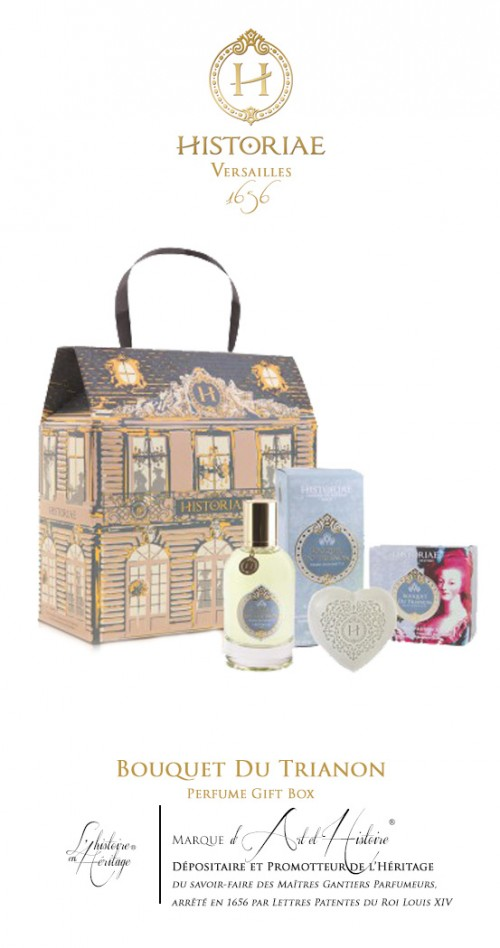 HISTORIAE Coffret Cadeau Parfum 50ml + savon 100 g