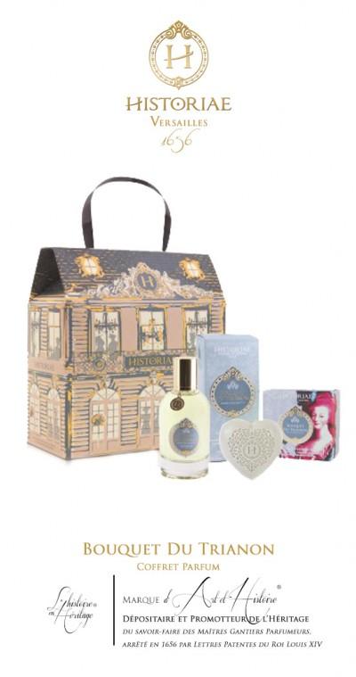 HISTORIAE Bouquet du Trianon - Coffret Cadeau Parfum 100ml + savon 100 g