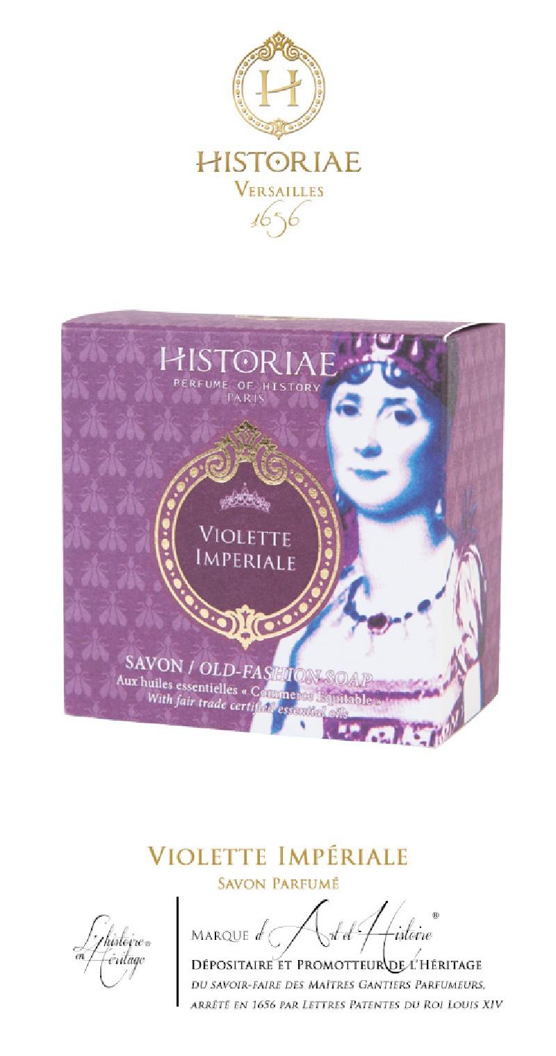 HISTORIAE Violette Impériale - Savon Parfumé 100g