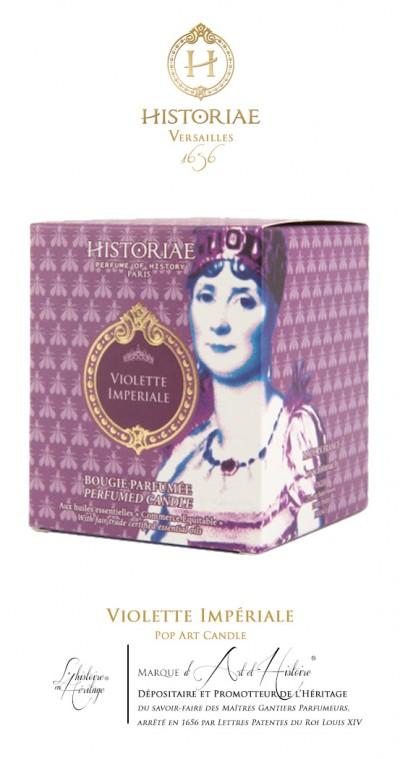 Violette Impériale - Pop Art Candle