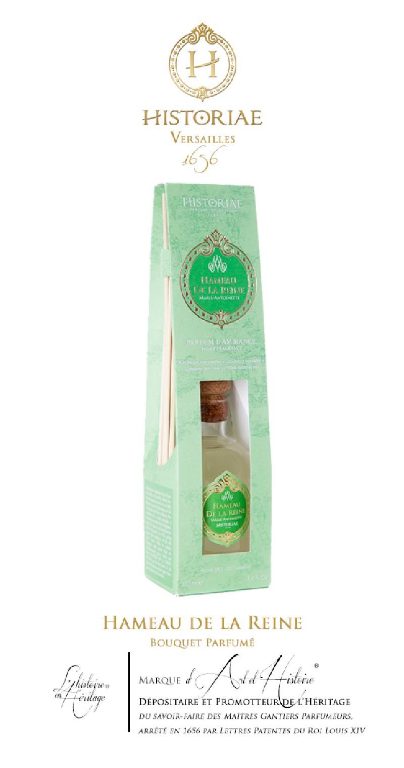 HISTORIAE Hameau de la Reine - parfum d'intérieur (diffuseur rotins) 100ml