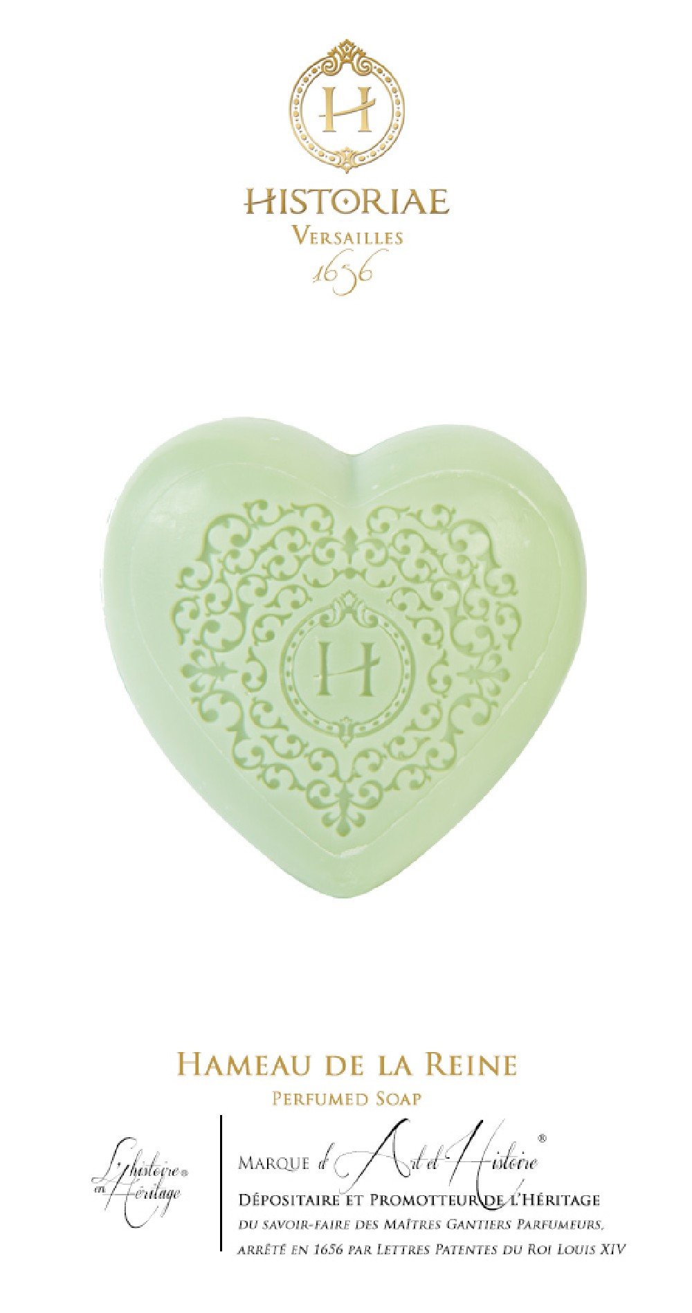 Hameau De La Reine Perfumed Soap Historiae Secrets