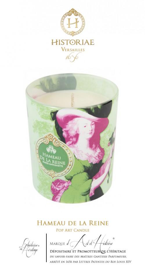 HISTORIAE Hameau de la Reine - Bougie parfumée Pop Art 190g (50h)
