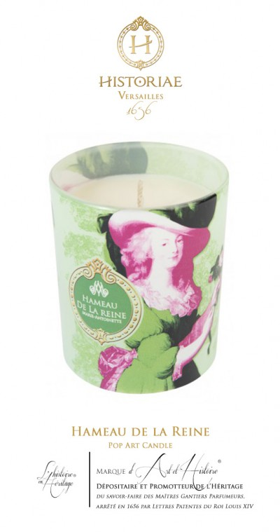 Hameau de la Reine - Pop Art Candle