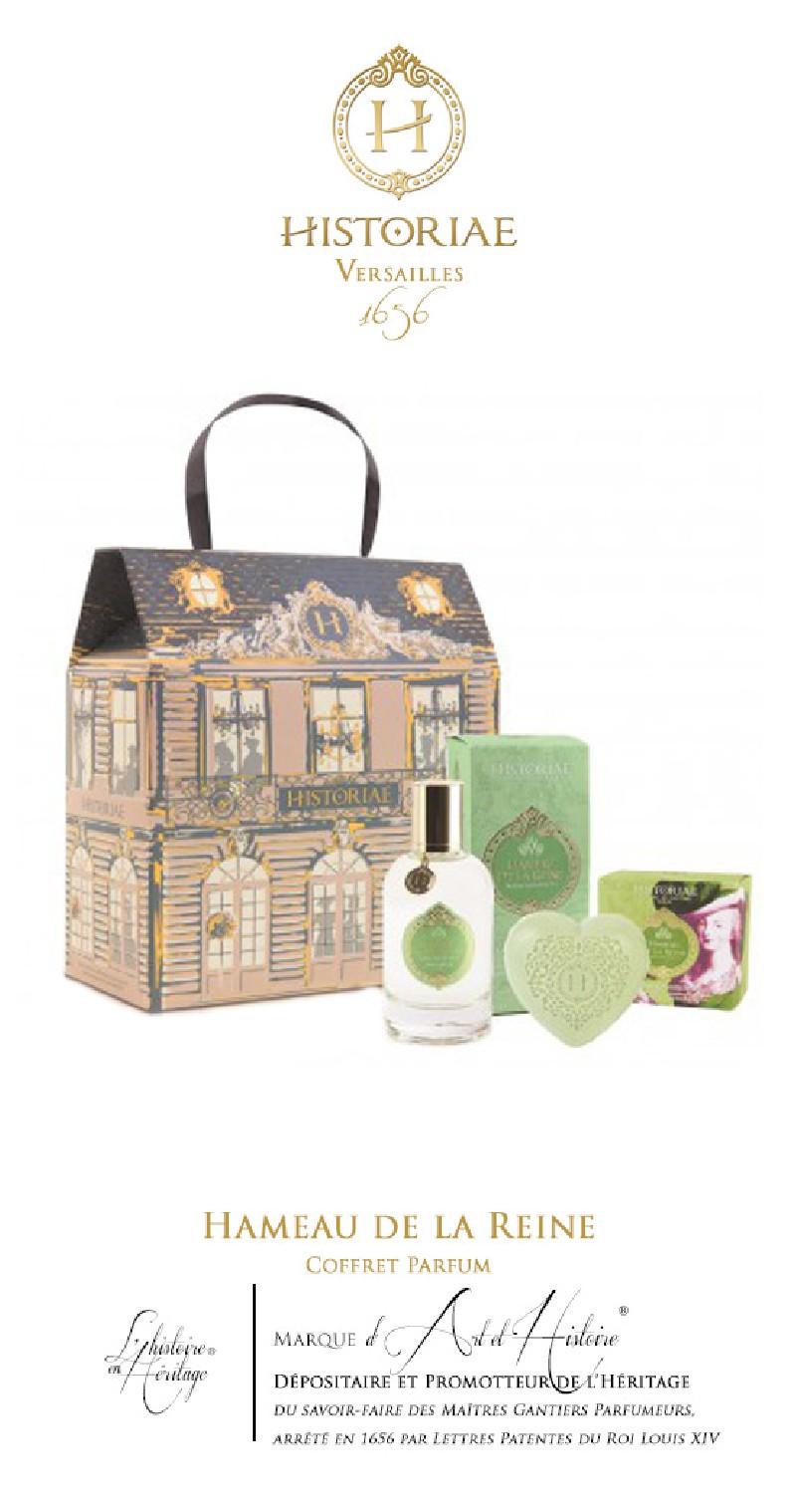 HISTORIAE Hameau de la Reine - Coffret Parfum
