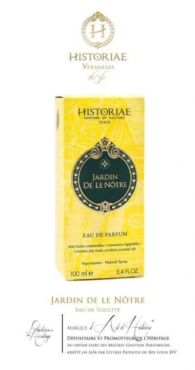 HISTORIAE Jardin le Nôtre - Eau de parfum