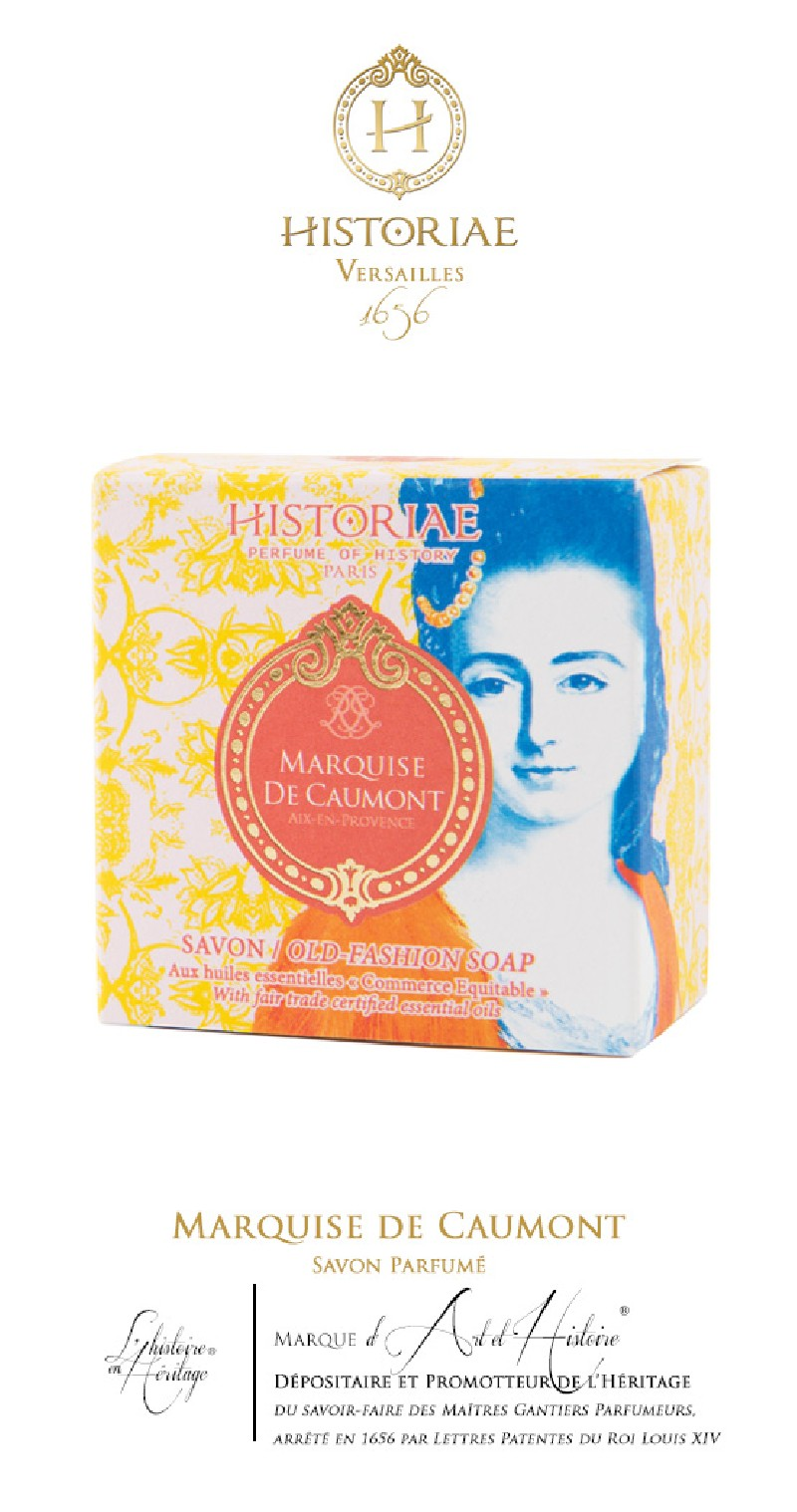HISTORIAE Marquise de Caumont - Savon parfumé 100g