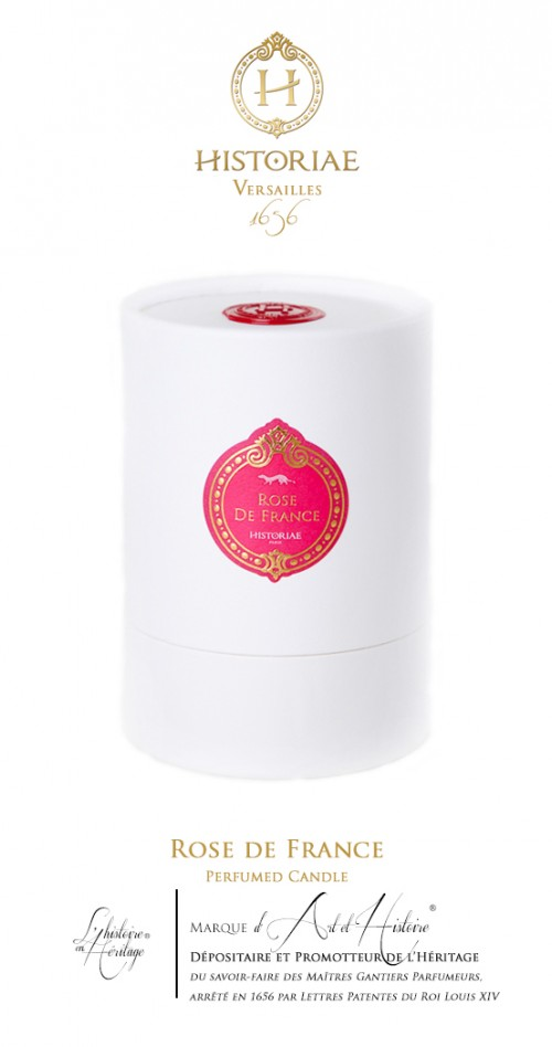 Rose de France - Scented Candle