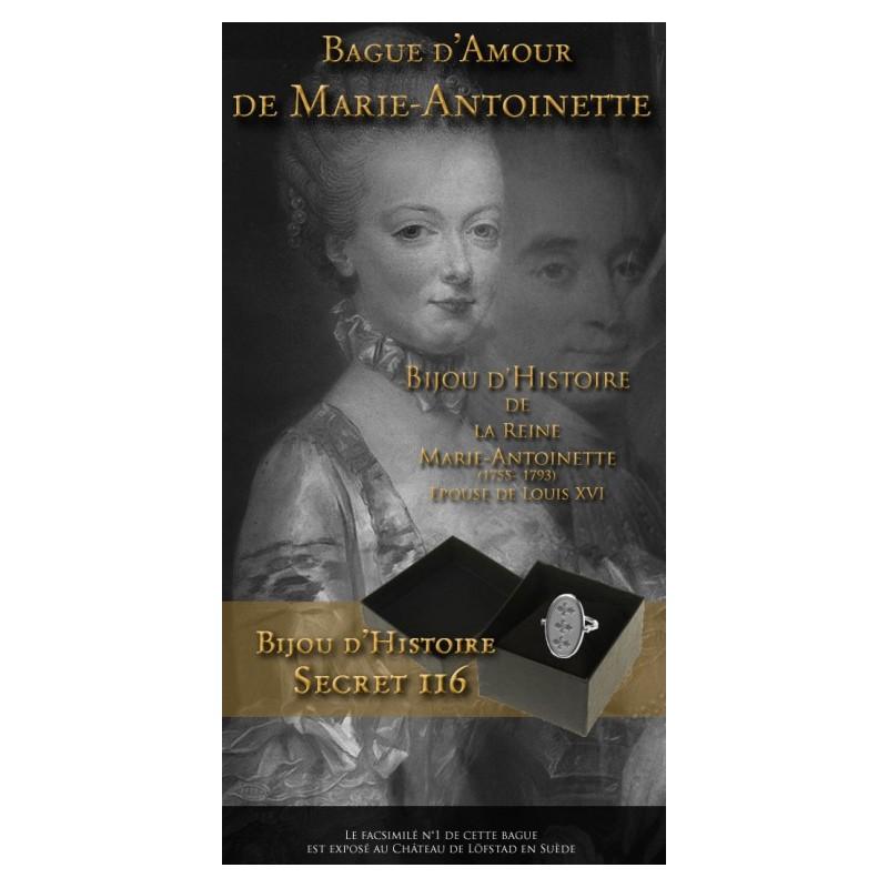 La Bague d'Amour de Marie-Antoinette à Axel de Fersen