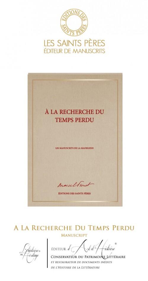A la Recherche du Temps Perdu - Manuscript of History