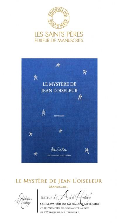 Le Mystère de Jean l'Oiseleur - Manuscrit Historique