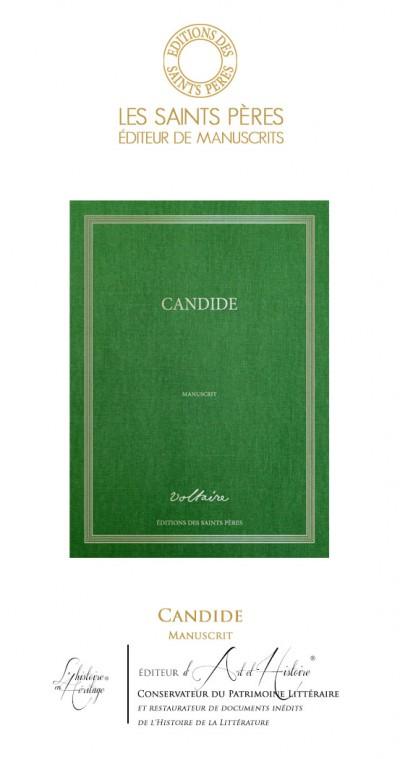 Candide - Manuscrit Historique