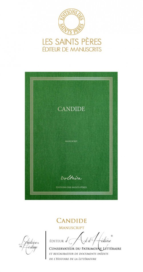 Candide - Manuscript of History