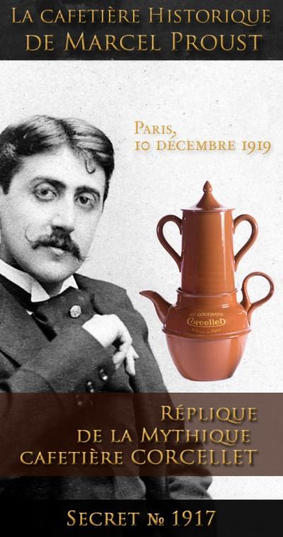La Cafetière CORCELLET de Marcel Proust