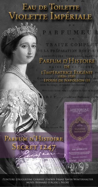 Parfum d'Art et d'Histoire «Violette Impériale»
