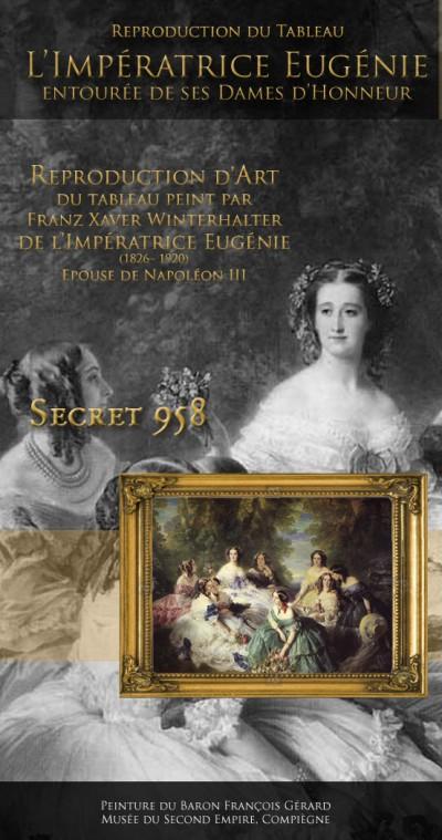 L'Impératrice Eugénie et ses dames d'honneur