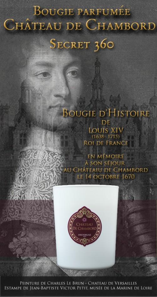 Château de Chambord - Bougie parfumée