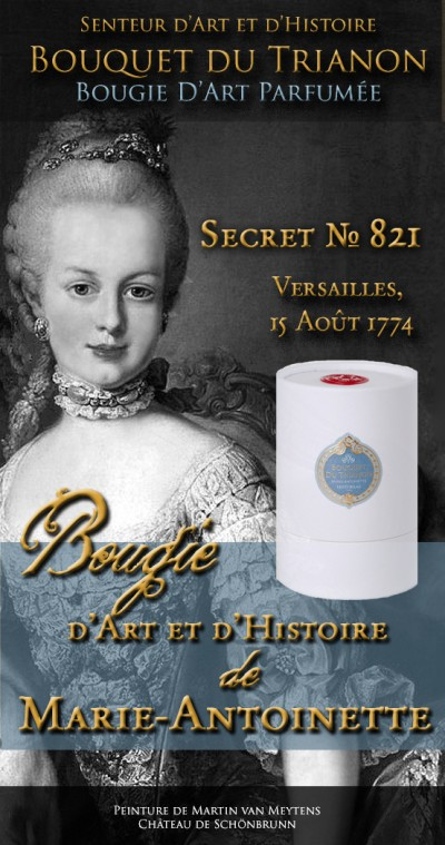 HISTORIAE Bouquet du Trianon - Bougie d'Art 180g (40h)