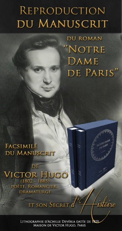 Notre Dame de Paris - Le Manuscrit Historique