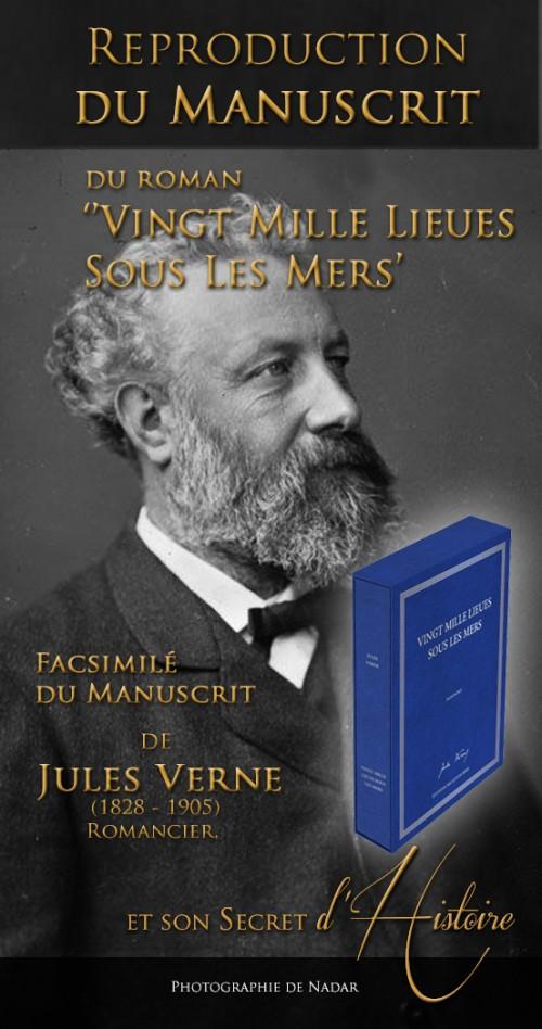 Vingt Mille Lieues Sous Les Mers - Le Manuscrit Historique
