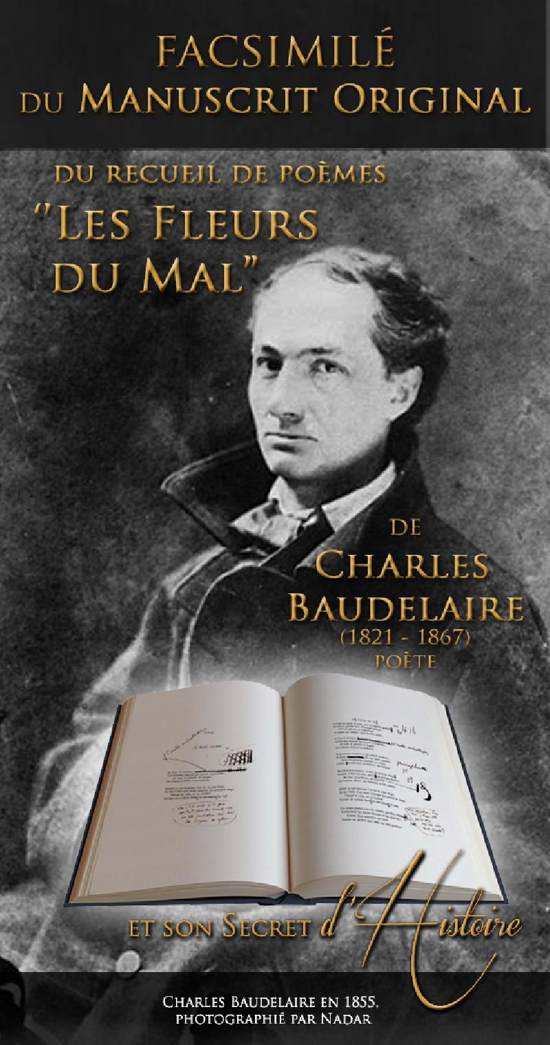 Les fleurs du mal le manuscrit historique historiae - Le salon du manuscrit ...