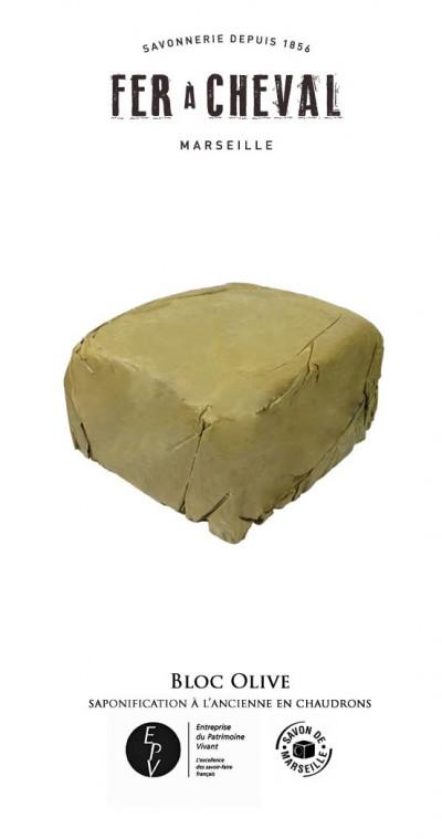 Bloc de Savon 16.5kg - Le Savon du Fer à Cheval