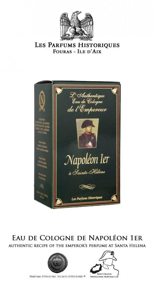 Eau de Cologne de Napoléon 1er à Sainte-Hélène