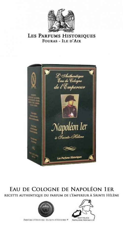 Eau Cologne de Napoléon 1er à Ste-Hélène 100ML