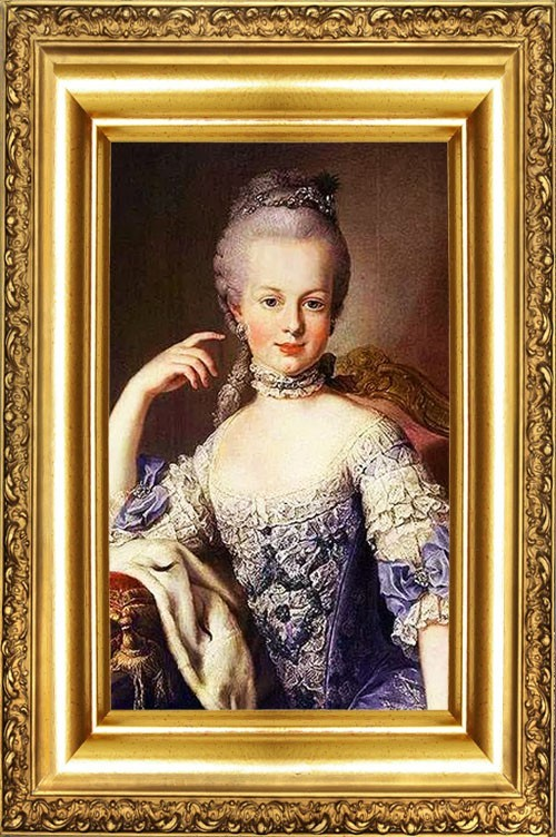 Objects and Products of History of MARIE-ANTOINETTE