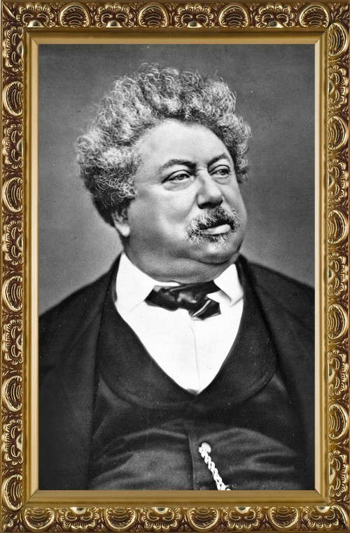 Objects and Products of History of ALEXANDRE DUMAS PÈRE