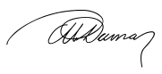 Historiae Signature d'Alexandre Dumas Père