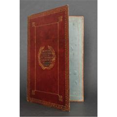 Portefeuille du premier valet de chambre de Louis XIV