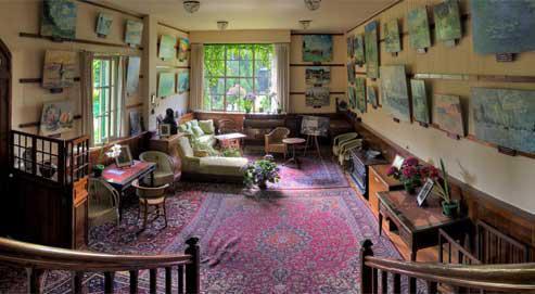 salon-atelier de Monet à Giverny